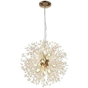 LBER Led Chandelier Lamp Dandelion for Living Dining Room Kitchen Bedroom Home Modern Decoration Lustre Pendant Ceiling Light