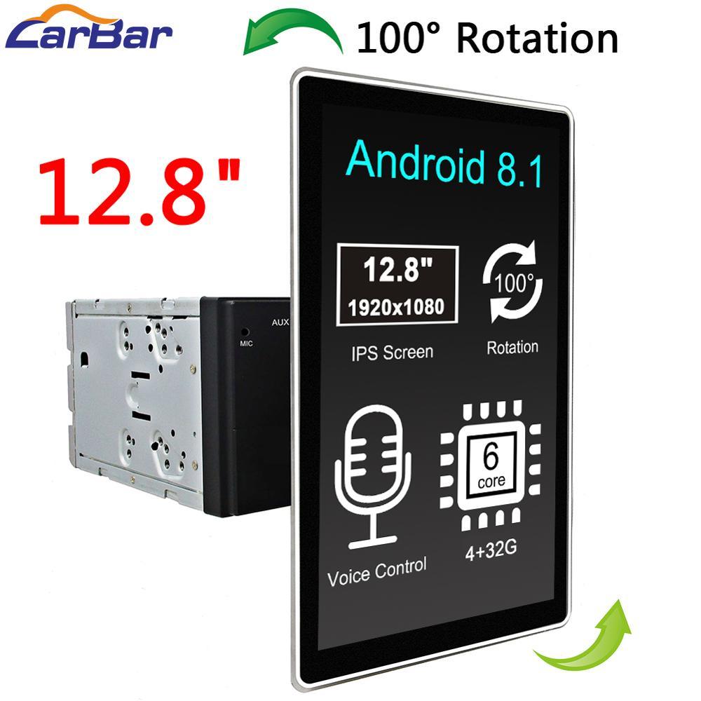 "Carbar 12.8 ""android 2 din universal carro dvd multimídia rádio jogador gps para nissan hyundai kia ford mazda toyota chevrolet vw"