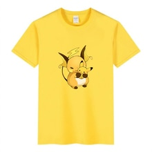 Baby Pokemon Pikachu Children T shirt Children Groot Cartoon Black White Fun Girl Cut Tshirt Childre