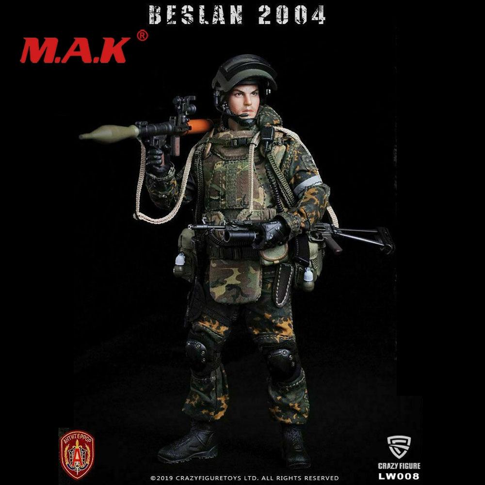 Crazy Figure LW008 1/12, modelo coleccionable de las fuerzas especiales de Granadinas de las fuerzas rusas alfa, artículos de venta