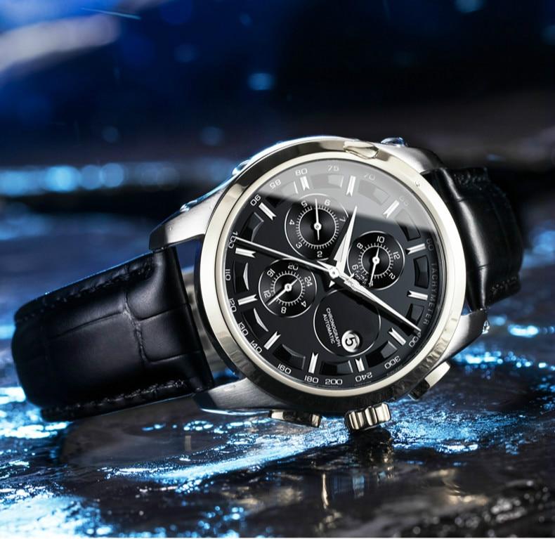 -TISSOT 1853 Men's Watches Top Brand Chronograph Waterproof Date Quartz Multi Functions Watch Men Re