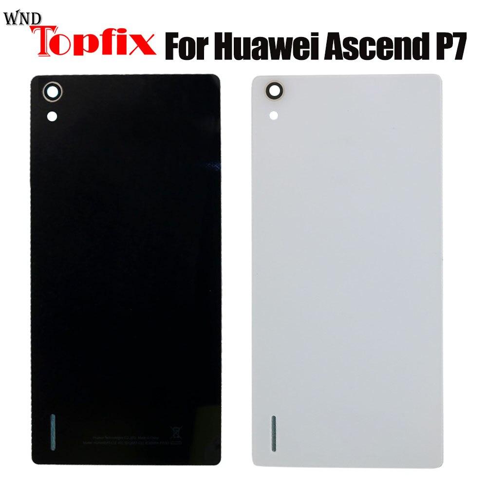 Новая задняя крышка батареи для HuaWei Ascend P7 корпус стеклянная крышка батареи для HuaWei Ascend P7 задняя крышка
