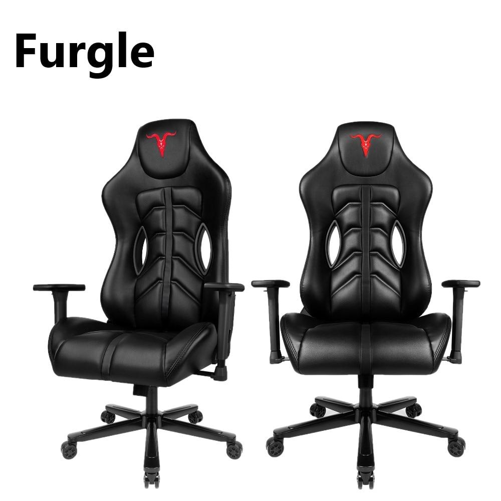 Офисный стул Furgle GPRO с эффектом памяти игровое кресло регулируемым углом наклона