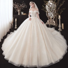 Vestidos de casamento de manga curta, floral, com lantejoulas, de renda, plus size, iphone a