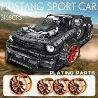 mould king moc high tech app remote control car rtr v2 racing car model building blocks bricks kids diy toys birthday gifts