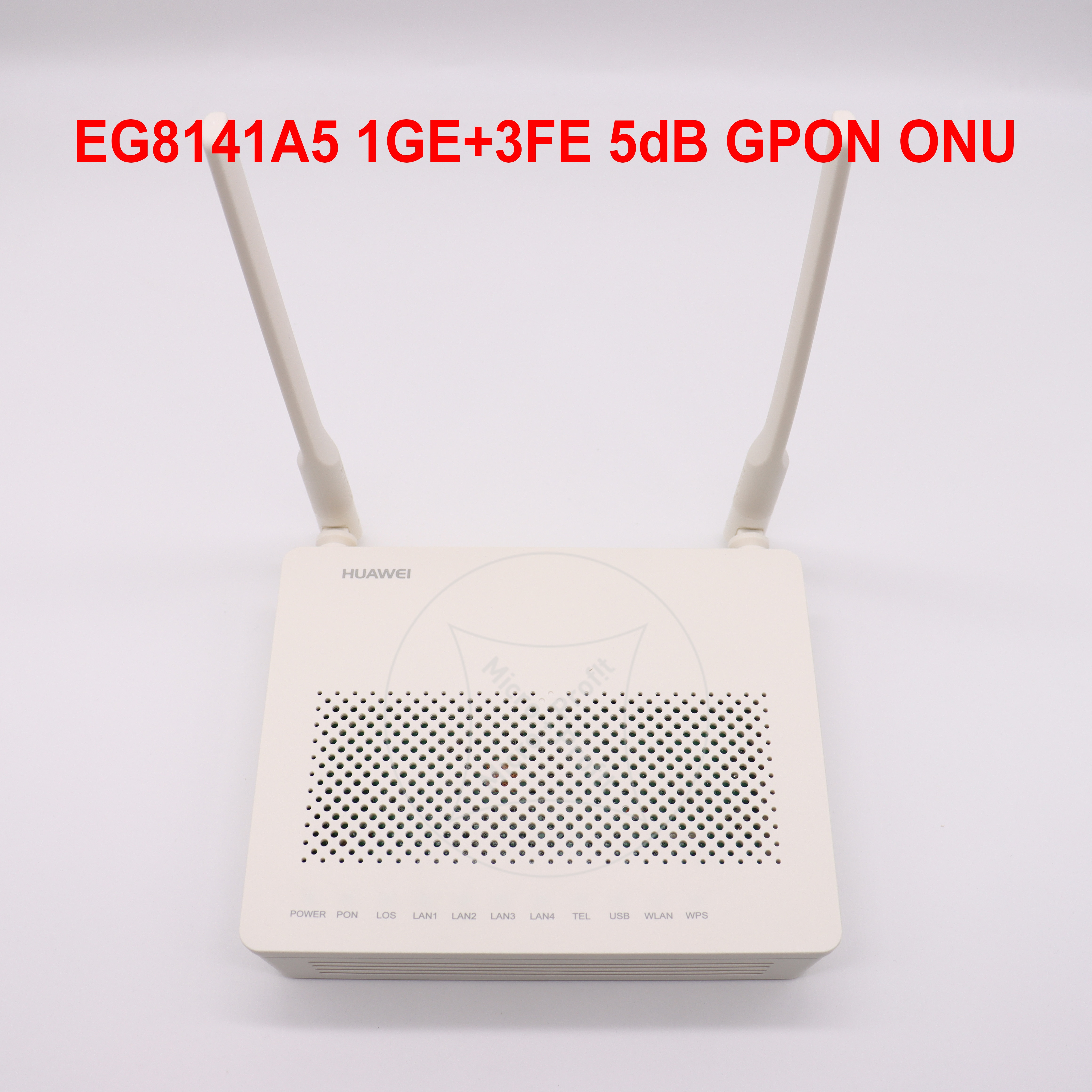 12 قطعة/الوحدة جديد Eg8141A5 100% الأصلي 1GE + 3FE + WIFI 5dB GPON ONU ONT الألياف مودم شبكة راوتر ONT ل OLT دون محول الطاقة