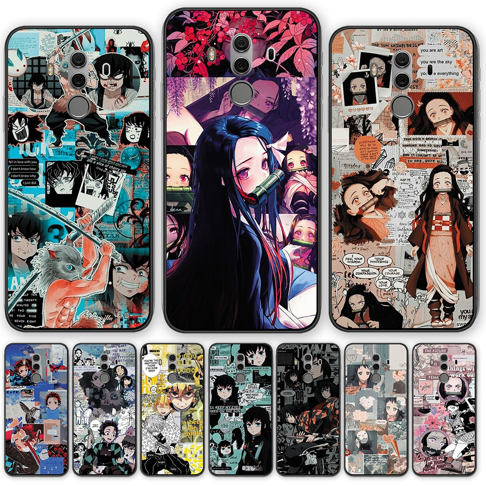 Мягкий Силиконовый ТПУ чехол Kamado Nezuko Kimetsu no Yaiba Demon Slayer для HUAWEImate 8 9 10 20 30 pro 20X mate10 20 lite