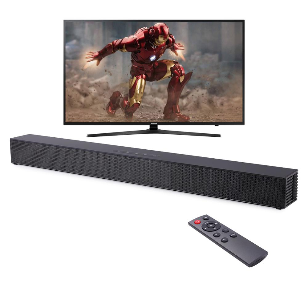 Wall-mounted TV Soundbar Home Theater 40W Wireless Speaker Support Optical Coaxial HDMI-compatible AUX With Subwoofer For TV PC