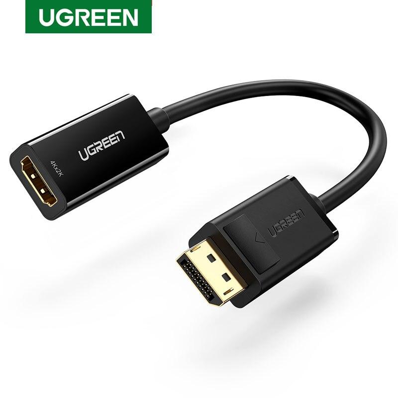 Ugreen-Cable convertidor Displayport adaptador de DP a HDMI, 4K, 1080P, para PC,...