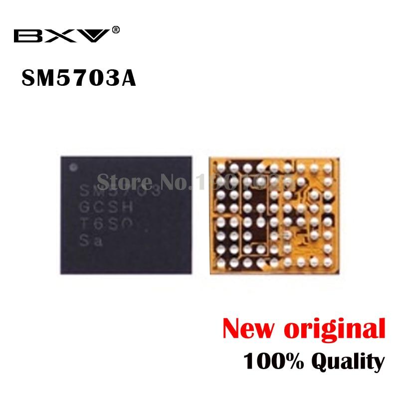 2 uds SM5703A SM5703 IC para A8 A8000 J500F cargador de carga USB IC nuevo original