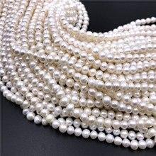 Vraies Perles naturelles Perles deau douce perle perle Baroque Perles en vrac pour bricolage artisanat Bracelet collier fabrication de bijoux 14.5