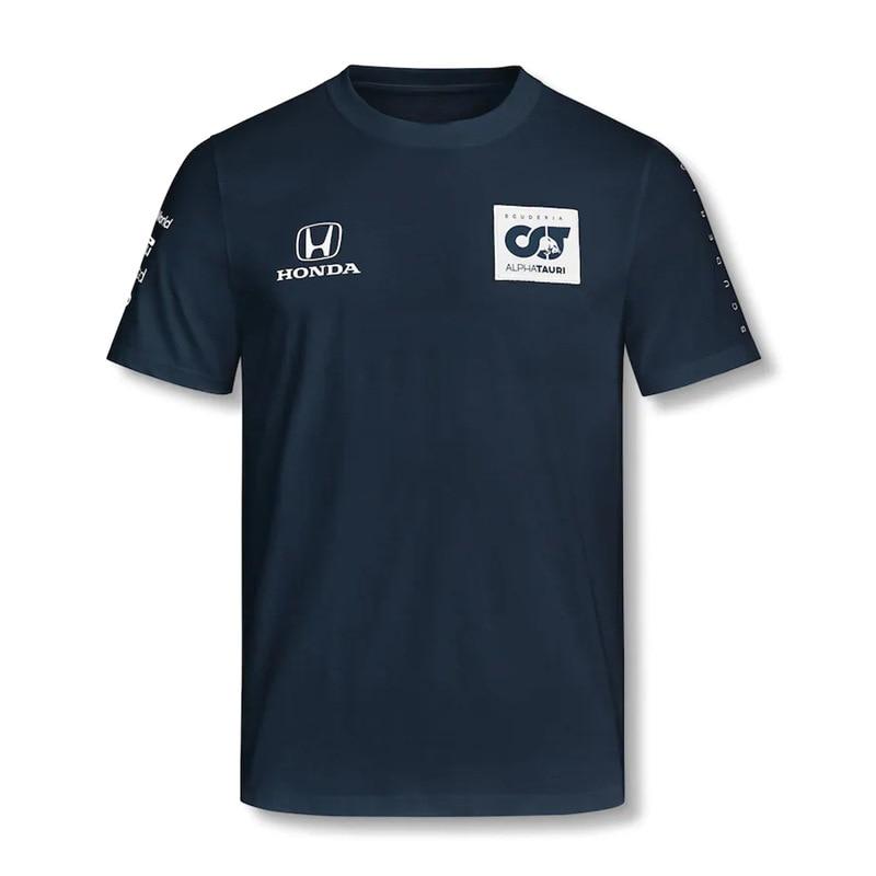 little-red-team-camiseta-de-primavera-y-verano-para-hombre-traje-de-carreras-f1-de-manga-corta-personalizado-alphalauri-novedad-de-2021