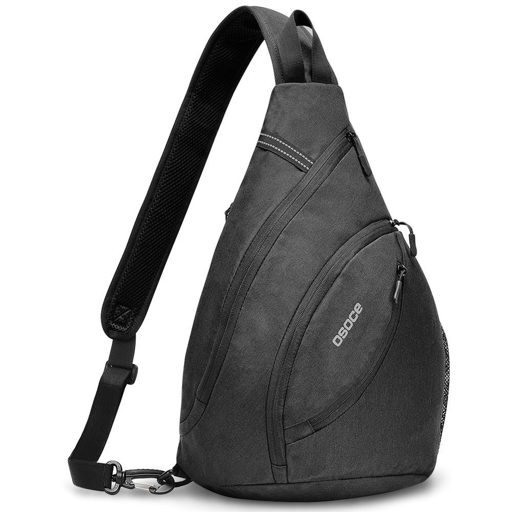 OSOCE, унисекс, нагрудный пакет, хит, цвет, один плечевой ремень, сумка на заднюю часть, сумки через плечо для женщин, мужчин, слинг, сумка на плечо, для путешествий, спорт