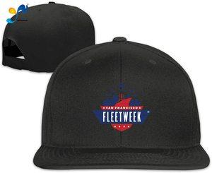 Yellowpods San Francisco Fleet Week Logo Men's Relaxed Medium Profile Adjustable Baseball Cap