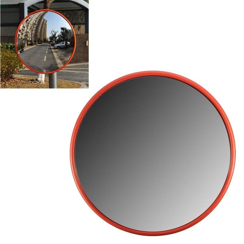 Espejo de seguridad para CARRETERA DE ÁNGULO AMPLIO DE 30Cm curvo para interiores, antirrobo, exteriores, vial de seguridad, señal de tráfico, espejo convexo (Ora