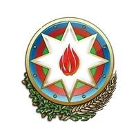 13cm for azerbaijan coat of arms heraldry diy motorcycle car stickers waterproof decal windows decoration