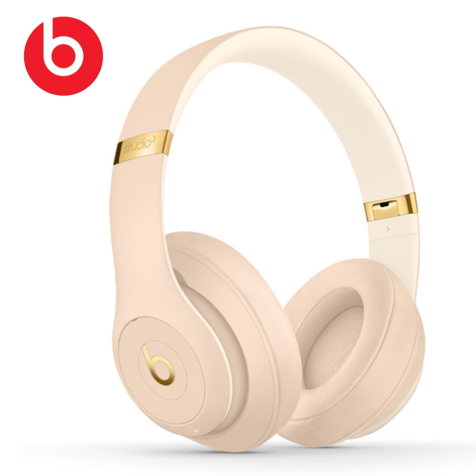 Original BEATS Wireless Bluetooth Headphones Studio 3 Noise Cancelling Headset Sport Bass Earphone Hands-free with Mic