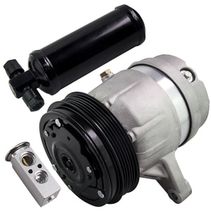 For VAUXHALL VECTRA B 2.2D Air Con Compressor 95-01 Y22DTR AC Conditioning Air Conditioner Compressor & Drier & TX Valve