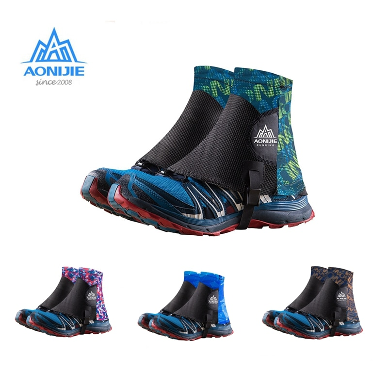 Aonijie E940 E941 Low Trail Running Gaiters Protective Wrap Shoe Covers Pair For Men Women Outdoor P