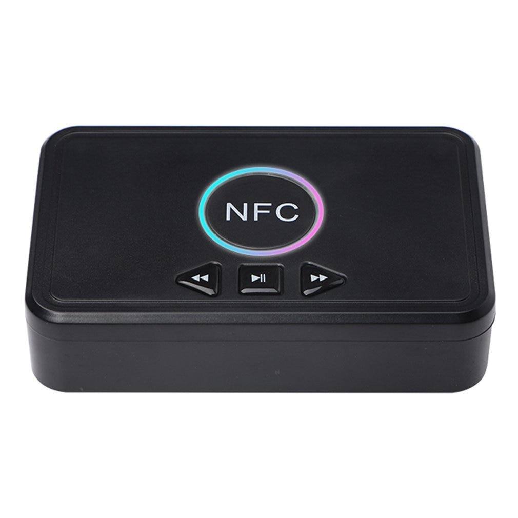 nfc-5-0-bluetooth-compatible-receiver-a2dp-aux-3-5mm-rca-jack-usb-smart-playback-stereo-audio-wireless-adapter-for-car-kit