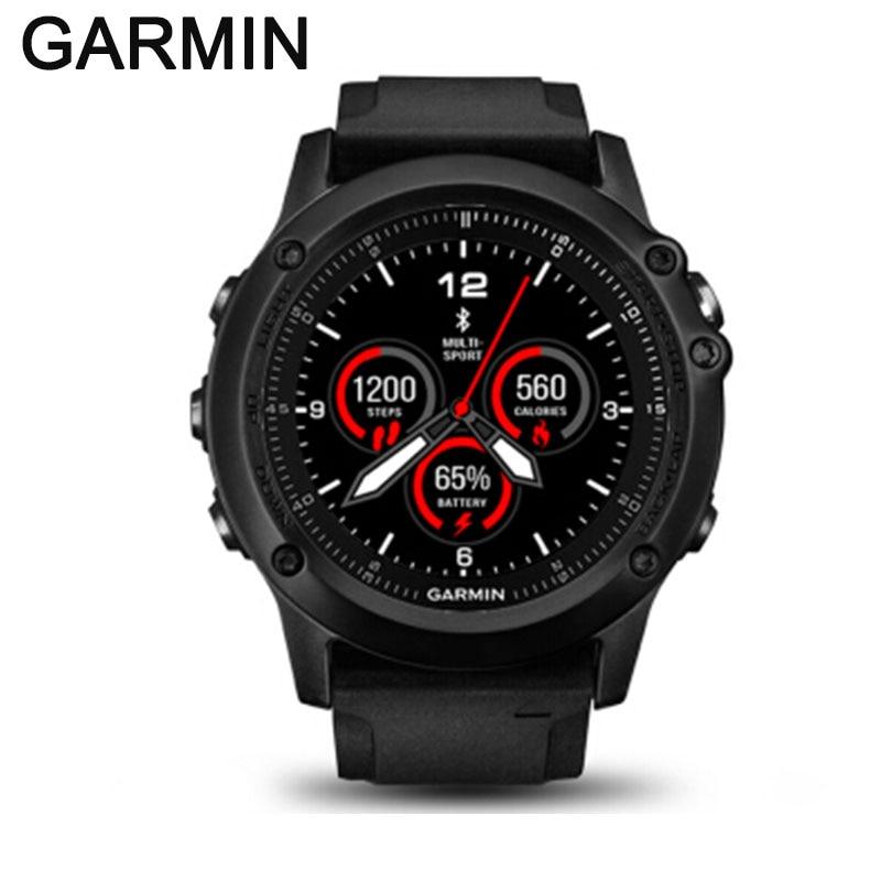 Garmin Fenix 3 HR Bluetooth 4.0 100m Waterproof Smart Watch men WIFI Wireless GPS GLONESS Heart Rate Monitor Watch sports watch