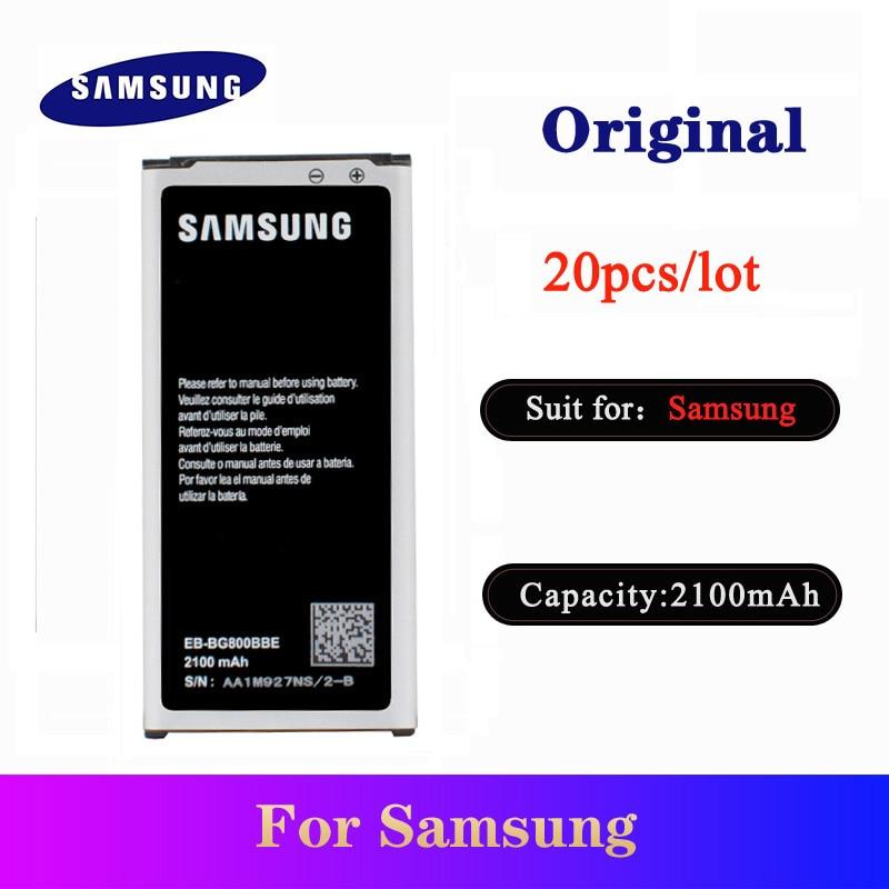 20pcs/lot Original Battery EB-BG880BBE For Samsung Galaxy Mobile Phone High Quality Replacement Bateria AKKU  2100mAh In Stock
