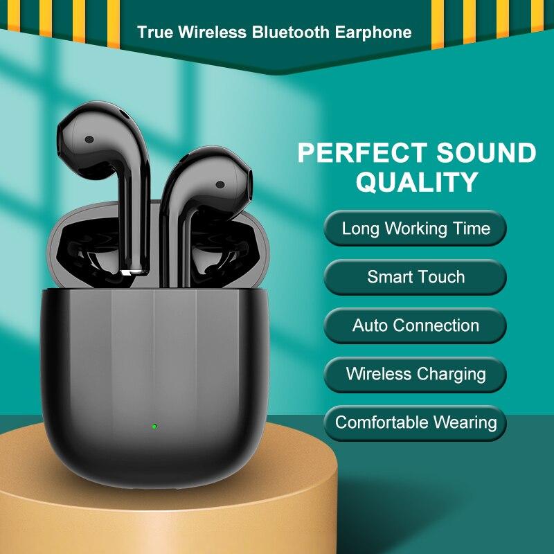 Auriculares inalámbricos Air2, audífonos con Bluetooth, TWS, Supergraves, Hifi, sonido micrófono, DOHKO...