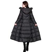 Зимние женские куртки, пальто, женская облегающая Парка выше колена с хлопковой подкладкой, корейское теплое пальто с капюшоном, Женское зи...