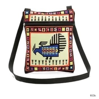 designed womens one shoulder handbag polyester printing mobile phone bags fashion messenger bag