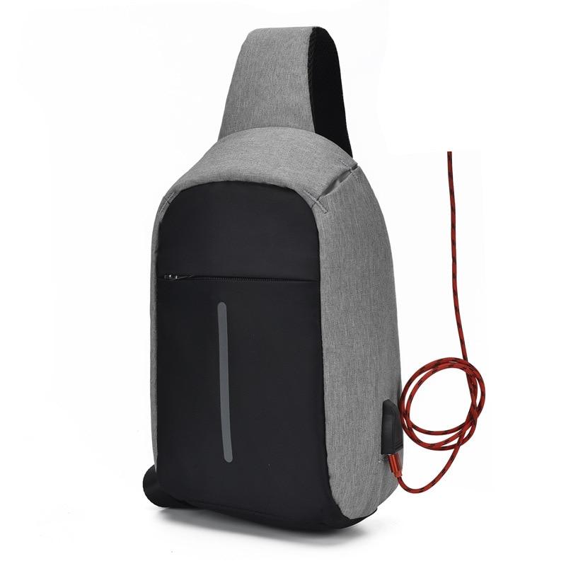 2019 новая многофункциональная сумка через плечо для мужчин и противоугонные сумки через плечо мужские водонепроницаемые короткие сумки для...