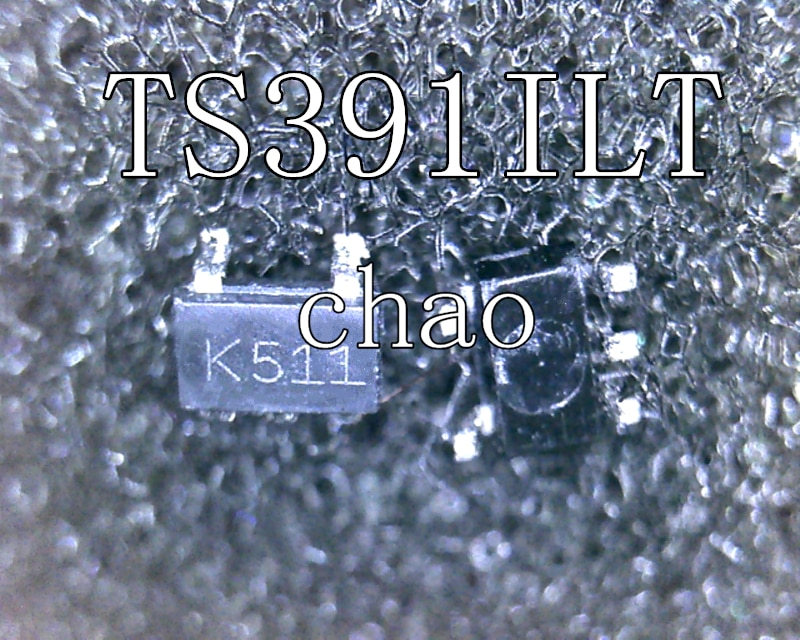 5 unids/lote TS391ILT K511 SOT23-5