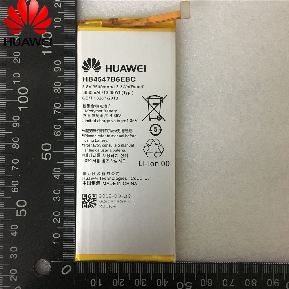 Dorigine HB4547B6EBC Honor 6 Plus de batterie de téléphone Pour Huawei Honor 6 Plus 6 plus PE-TL20 PE-TL10 PE-CL00 PE-UL00 HB4547B6EBC