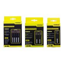 Liitokala Lii-100 Lii-202 Lii-402 Lii-PD4 100B Chargeur De Batterie, Charge 18650 1.2V 3.7V 3.2V 18350 26650 NiMH Batterie Au Lithium