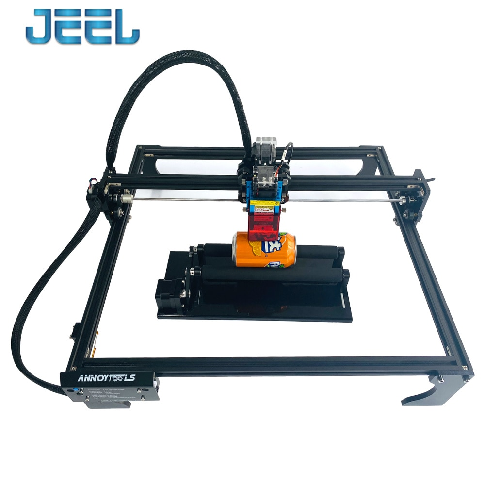 4540 Laser Engraving Machine  + Rotary Roller Axis, with  32-Bit Motherboard 7w/15w/20w/40w Laser Printer CNC Router enlarge