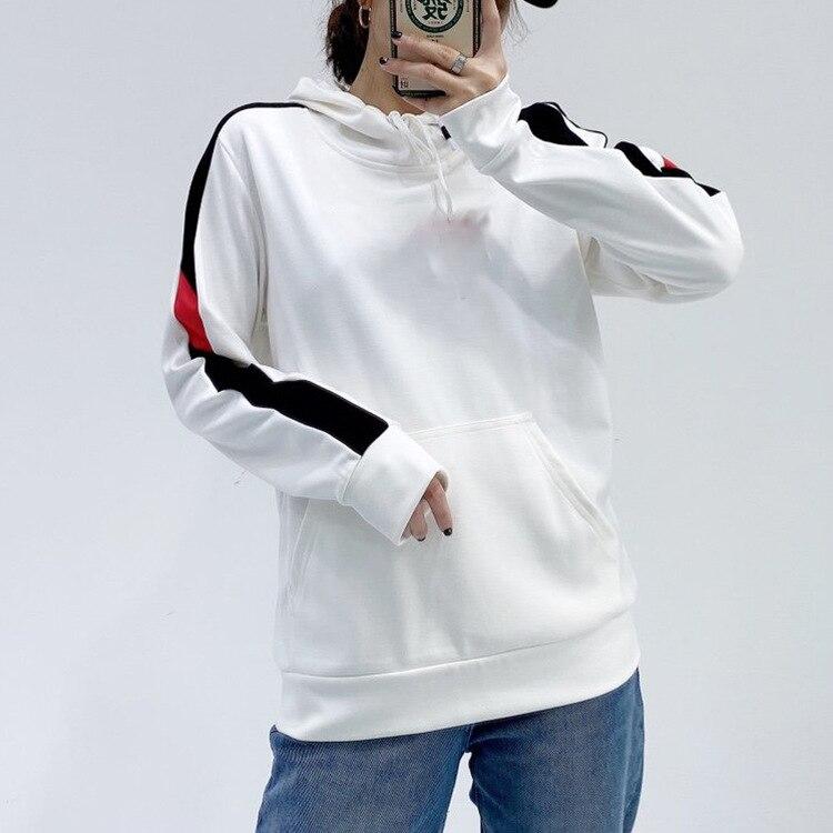 سترة بغطاء رأس ناعمة للنساء, تصميم كلاسيكي كاجوال لفصل الشتاء 2021