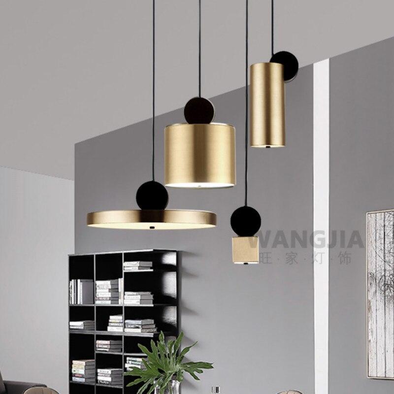 مصباح معلق إبداعي على الطراز الاسكندنافي ما بعد الحداثة ، إضاءة زخرفية داخلية ، مثالي لغرفة المعيشة ، المدخل ، المطعم ، البار ، المقهى ، WJ429