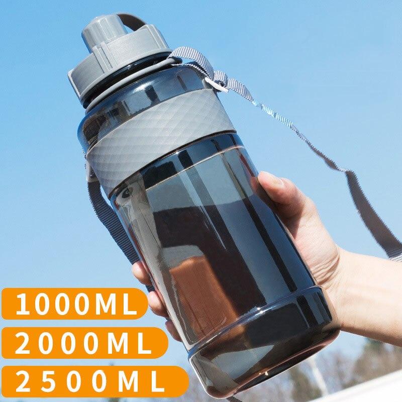 Gran oferta Yooap portátil de gran capacidad movimiento mi botella de agua de plástico libre para deportes Camping senderismo 650/1000/1500/2000/2500ml