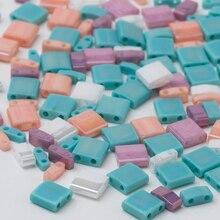 Taidian Miyuki Tila perles perles de verre japonaises Multi couleur Bohostyle bijoux trouver trois modèles mélangés ensemble 5 grammes