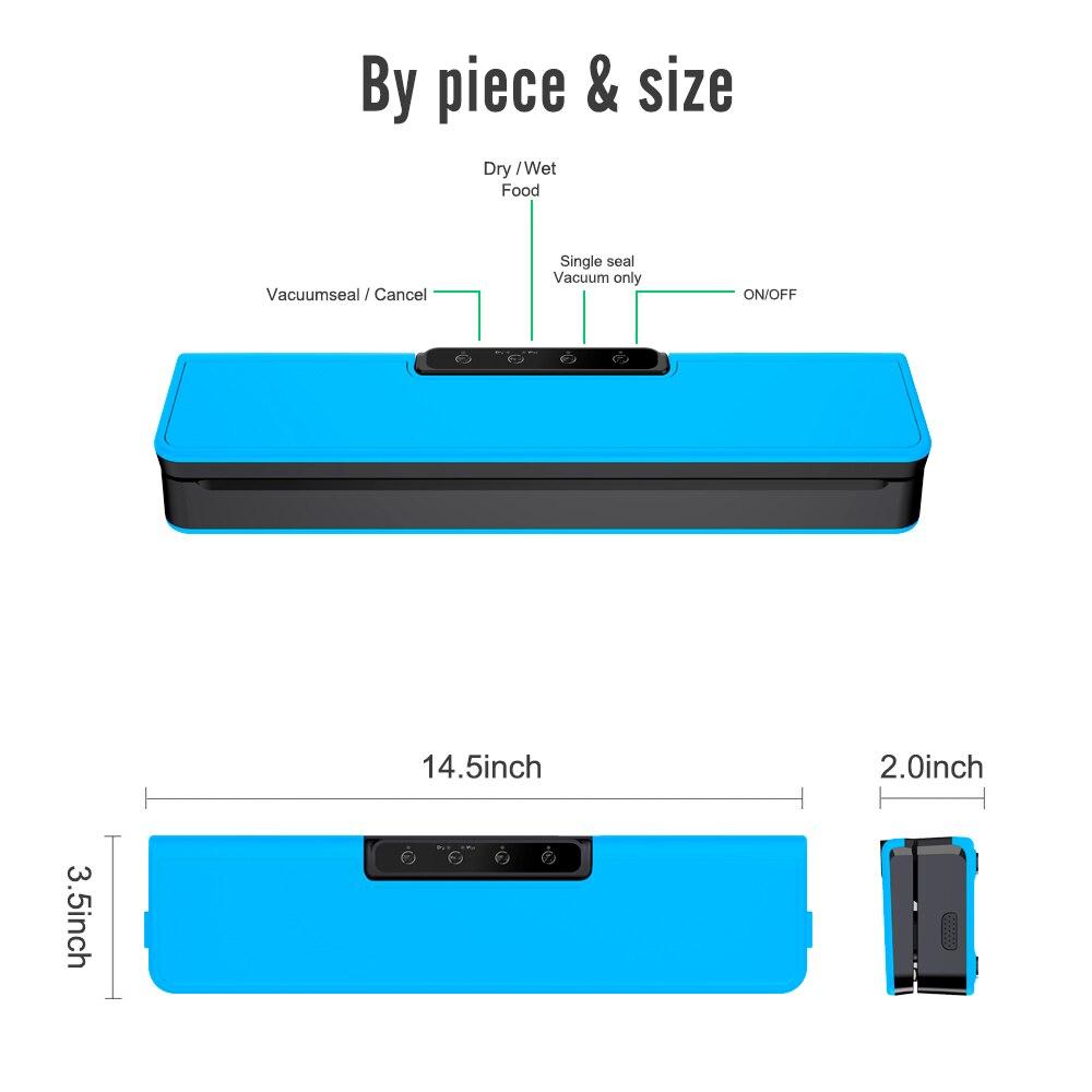mini household food saver hand pump vacuum sealer home food sealer handheld food packer plastic vacuum sealer machine