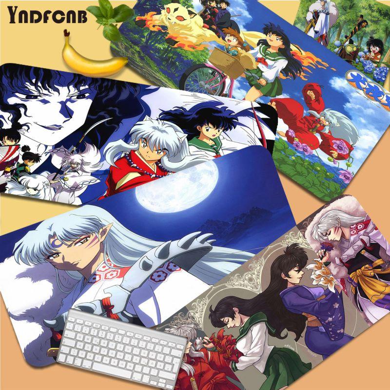 YNDFCNB Inuyasha в наличии, игровой Настольный коврик для ноутбука, резиновый коврик для мыши, размер для коврика для мыши, клавиатуры, коврик для Cs ...