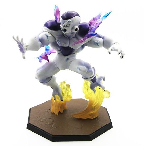 Dragon Ball Z freezer forma Final Tamashii cero de PVC freezer figuras de acción de juguete estatua