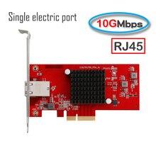 10G PCI E carte réseau e-sport Pci-E X4 RJ45 simple port électrique 10000M vitesse gigabit ethernet Lan carte adaptateur réseau 5G/2.5G
