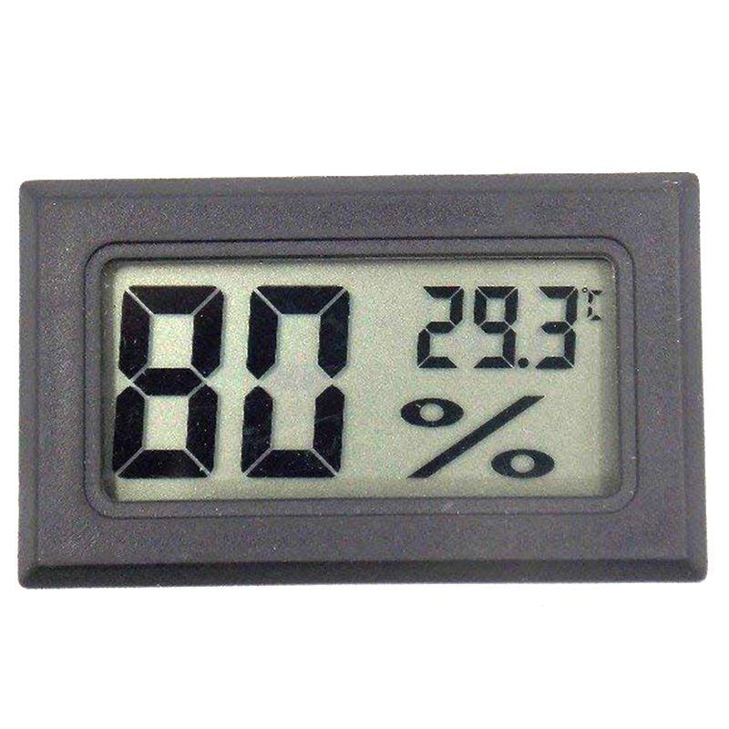 BMBY-FY-11 mini digital lcd ambiente diy termômetro higrômetro embutido medidor de temperatura e umidade na sala