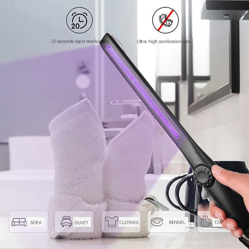 Lámpara UV portátil esterilizadora, luz ultravioleta UVC germicida para el hogar, luces...