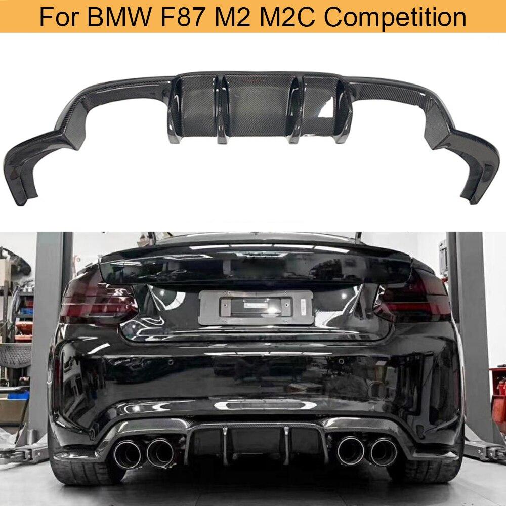 شفرة المصد الخلفي من ألياف الكربون ، ملحقات السيارة ، BMW 2 Series F87 M2 M2C racing 2016-2018