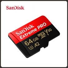 SanDisk extrême Pro carte Micro SD 256 go 512 go carte mémoire Flash jusquà 170 mo/s 64 go 128 go Class10 U3 V30 A2 cartao de mémoire