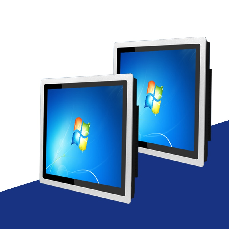 21.5 inch Embedded capacitive touch Industrial Panel PC, 4G RAM core J1800/i3 ,mini pc that can be used for wall mounting