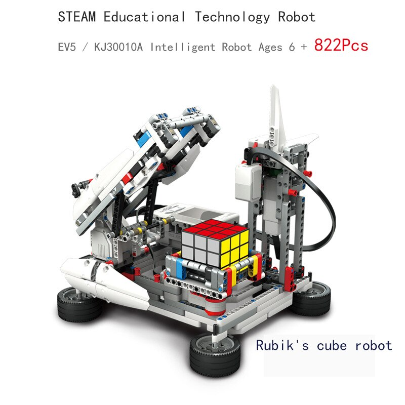 High-Tech Building Block Programming Series the Robots Education STEAM Compatible With EV3 Graphical Cube Upgraded DIY Toy Gift enlarge
