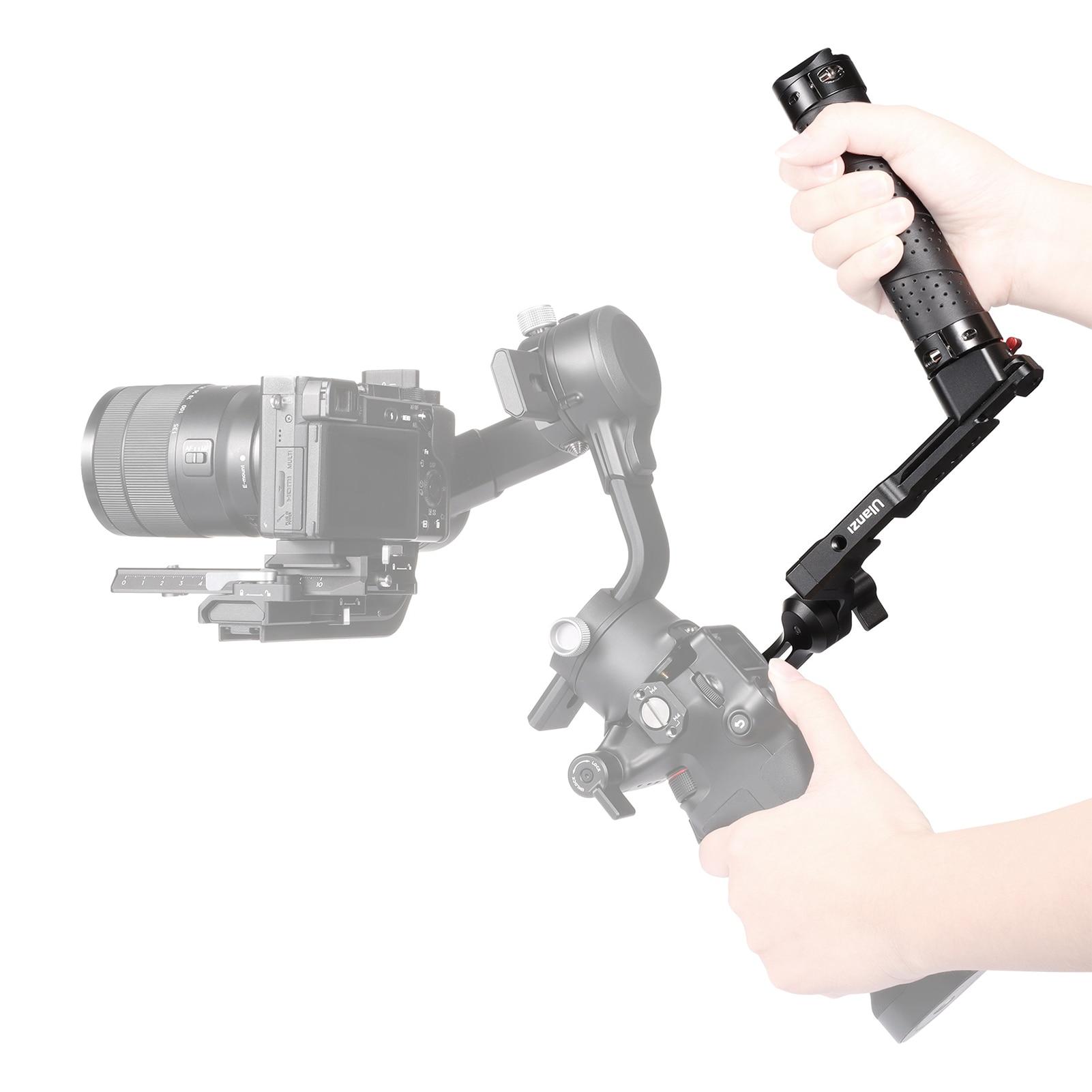 مثبت Gimbal مع مقبض قابل للطي ، دعم تمديد DJI Ronin RSC2 ، ملحقات التصوير الفوتوغرافي ، استوديو الصور
