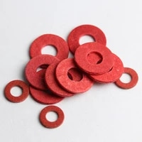 red washer insulation red steel paper meson insulating flat spacer gasket ring m2 m2 5 m3 m4 m5 m6 m8